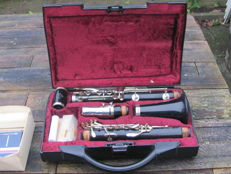 Clarinet B-Mol by Buffet Crampon BC-12 1952/53 from France Serial no. 497050