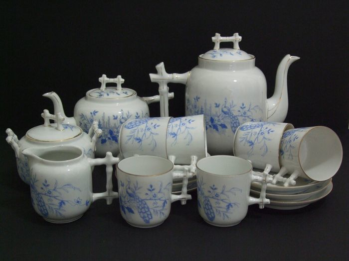L. Regout Mosa  - coffee / tea set decor 94