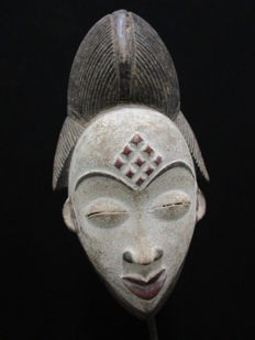 POUNOU mask - Gabon