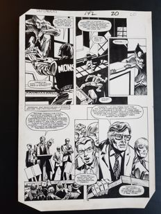 Don Perlin - Original Art Page - The Defenders #142 - Page 20 - (1985)