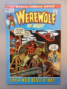 Marvel Comics - Werewolf by Night #2 - 1x sc - (1972)