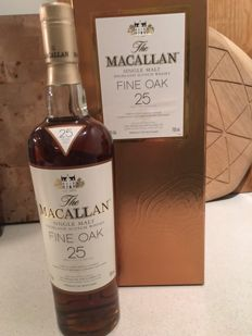 Macallan 25 Year Old Fine Oak (discontinued edition) - OB
