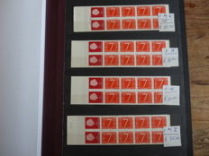 The Netherlands 1964/2000 - Batch 150 stamp booklets in album and separate