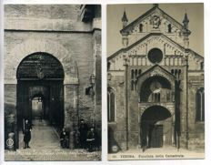 Italy, city and village views, period: 1900-1939; 86 x