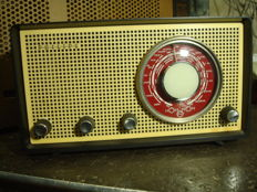 Philips tube radio B2X80U from 1958