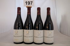 2x 2010 & 2x 2012 Domaine Drouhin-Laroze Chambolle-Musigny, Cote de Nuits, France - Total of 4 Bottles