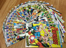 The Avengers - Marvel Comics - X29 SC Issues - Ranging From #117 to #199 - Direct version - (1973-1980)