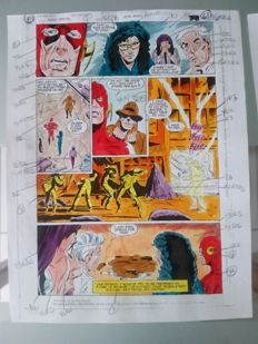 Glenn Whitmore - Original Colourisation (Color Guide Art) - Flash special #1 - Page 61 - (1990)
