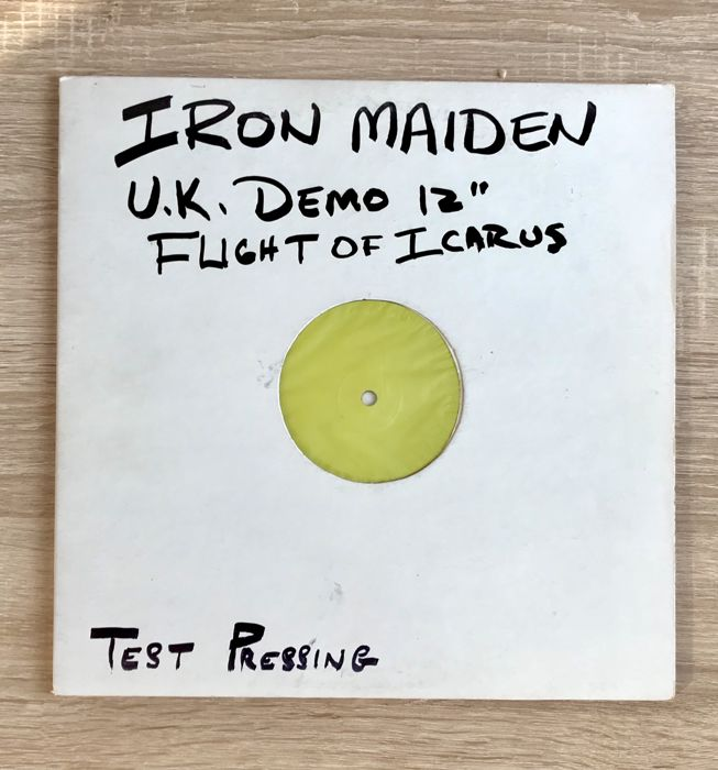 Iron Maiden -  Flight of Icarus - Test Pressing