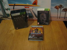 3 Special Editions Xbox360 Games: Halo reach + Dishonored special coll. edition + Mass effect special coll. edition.