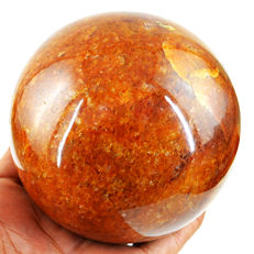 "Orange Aventurine ""healing ball"" - 101 mm - 1002 gms"