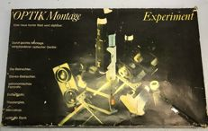 Stereo Optik Montage (Experiment) construction kit to make your own stereo or theatre glasses