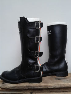 Rare Vintage Buffalo 'Trial Fancy' Motorcycle Boots - c.1970