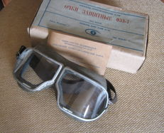Russian CCCP aviator goggles new box instruction