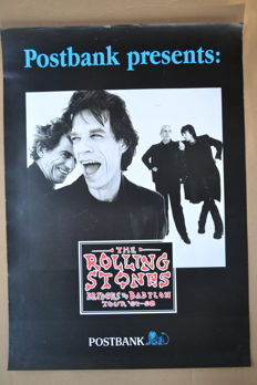 nice collection of 27 international Rolling Stones posters