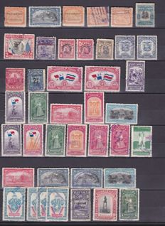 South America - Collection of over 1400 stamps of Guatemala, Panama, Salvador and Venezuela.