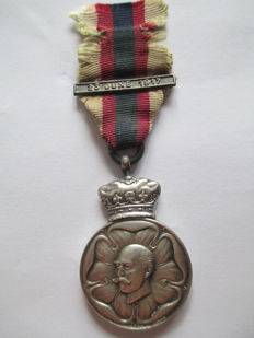 Duke (Earl) of Connaught, M.W.G.M.(Most Worthy Grand Master) 1917 Silver Medal