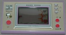 Game & Watch - Widescreen - Snoopy Tennis