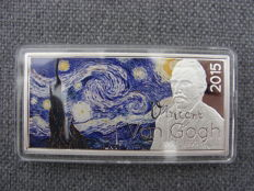 Gabon - 1000 Francs 2015 'Vincent van Gogh The Starry Night1889""