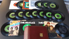 set of 20 singles by the beatles