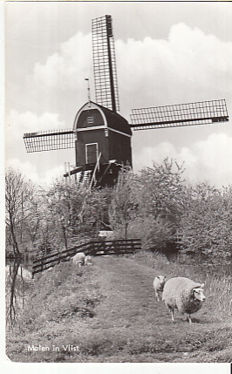 The Netherlands, Windmills, 126x