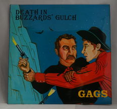 Rare LP from Death in Buzzards' Gulch Gags.