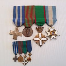 Rare collection of veteran medals