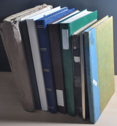 USA, starting from classic - Batch in various stock books.