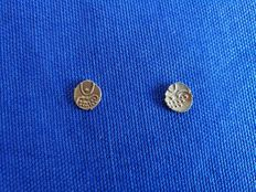 India - Fanam (1881/1885) (2 pcs) - gold