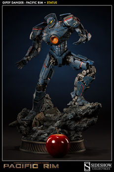 Pacific Rim - Sideshow Collectibles - statue - Gipsy Danger - 50cm high