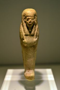 Egyptian faience Shabti – 70 mm