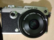Olympus PEN-F with a 17mm ZUIKO
