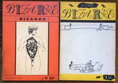 Bizarre - Issues I & VI - 1955 & 1956