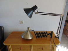 Unknown designer - Two industrial lamps
