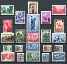 Belgium 1954 - Full year pack - OBP 938/960