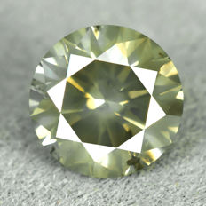 Diamond - 0.74 ct, - NO RESERVE PRICE