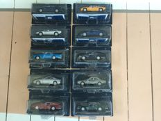 Maserati Collection - Scale 1/43 - Lot of 10 Maserati models