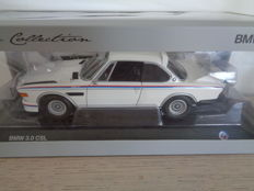 Minichamps - Scale 1/18 - BMW 3.0 CSL - White