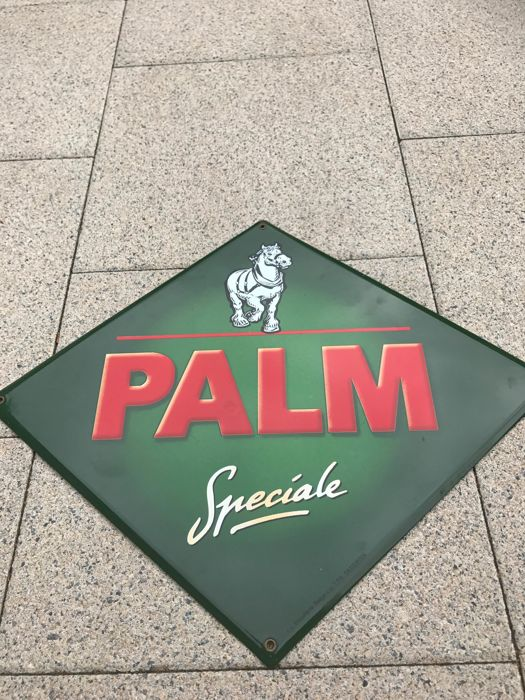 Beautiful enamel advertising sign Palm Speciale