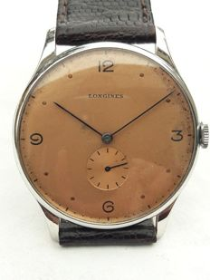 Longines - Oversize 1942 Demi-Platte 23M Pink Dial 38 mm  - 2920/20 - 男士 - 1901-1949