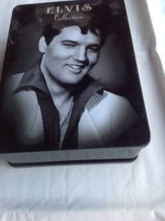 Elvis Collection Limited metal dvd Box