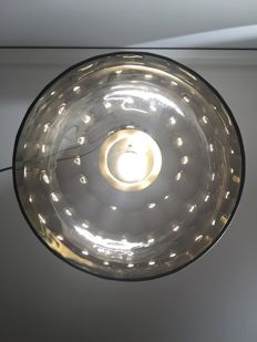 Unknown designer - Ceiling pendant light in gem cut crystal