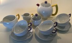 Arxberg, Lutz Rabold - `City Modern Art`  Tea set, Post Modern Memphis Design
