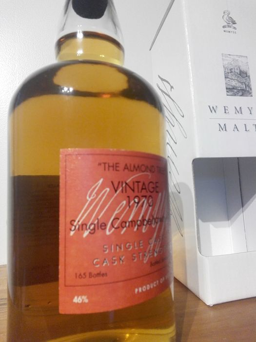 Springbank 37 years old 1970 The Almond Tree 'Wemyss' 165 ... Almonds Vertaling