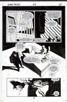 Anthony Williams - Original Art Page - Scare Tactics #3 - Page 5 - (1998)