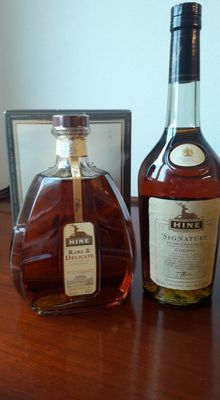 "Hine Cognac: Signature & ""Rare & Delicate"" - 2 bottles in total"