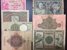 Germany - lot of 62 banknotes
