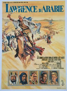 Anonymous - Lawrence d'Arabie / Lawrence of Arabia (Peter O'Toole, Alec Guinness - 1962