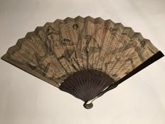 Various - ASSIGNATS fan from the early 19th century, model in good condition, see pictures
