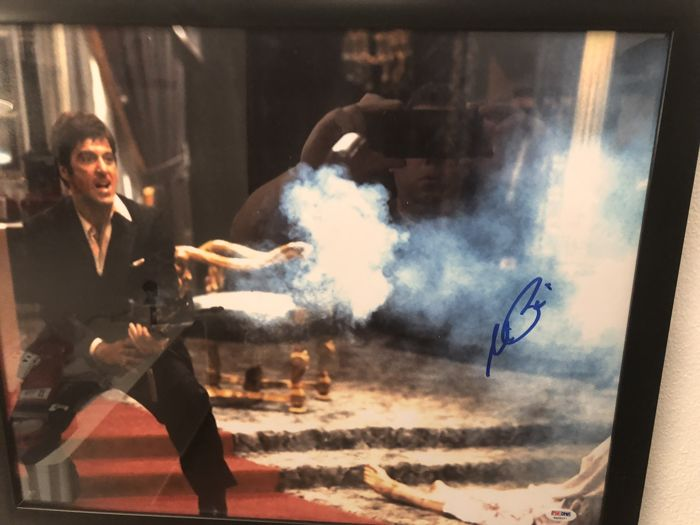 Tony Montana Scarface Say Hello To My Little Friend Photo Psa Coa